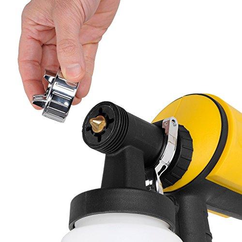 elektrische lackierpistole powerplus powx353 ausf hrlich vorgestellt. Black Bedroom Furniture Sets. Home Design Ideas